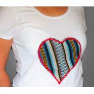 Camiseta Corazón Manchego